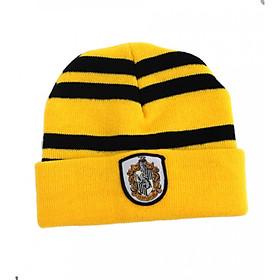 mũ len trùm đầu harry potter màu vàng