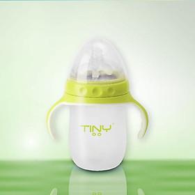 Bình Sữa Silicone Cao Cấp Tiny Baby Nhật Bản 250ml