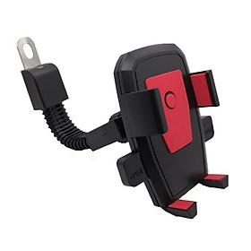 Giá đỡ điện thoại gắn xe gắn máy xoay tự động đa năng