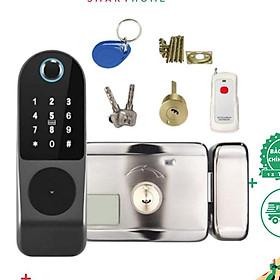 Khoá cửa thông minh - Mở bằng mã số, thẻ từ, vân tay và điện thoại