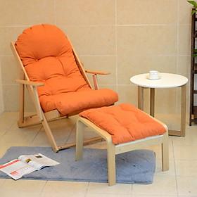 Bộ ghế thư giãn gỗ sồi