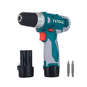 Máy khoan pin Li-on  Total TDLI228120 (2 pin-2 mũi khoan-1 túi đựng)