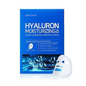 Hộp 10 Miếng Mặt Nạ Dưỡng Ẩm, Cấp Nước Some By Mi Hyaluron Moisturizing Sheet Mask