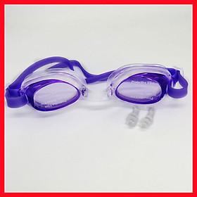 Kính Bơi Trẻ Em HA-1900 Chống Nước, Chống Tia UV Bảo Vệ Tối Đa Đôi Mắt Của Trẻ (Màu Ngẫu Nhiên) + Kèm 2 Nút Bịt Tai