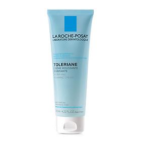 Sữa rửa mặt tạo bọt cho da hỗn hợp & da dầu rất nhạy cảm & kích ứng La Roche-Posay Toleriane Foaming Cream (125ml)