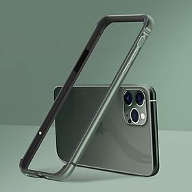 Ốp viền silicon dẻo phủ nhôm màu trơn, ốp viền bumper siêu nhẹ cho iPhone 11 Pro 5.8in