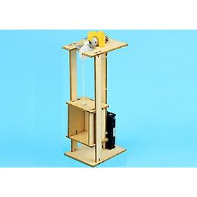 [Giáo Dục STEM] Mô hình thang máy - Đồ Chơi Sáng Tạo Cho Trẻ