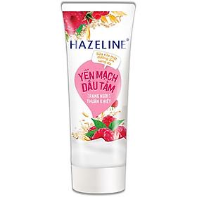 Sữa Rửa Mặt Hazeline Dưỡng Ẩm Sáng Da Yến Mạch Và Dâu Tằm (100g)
