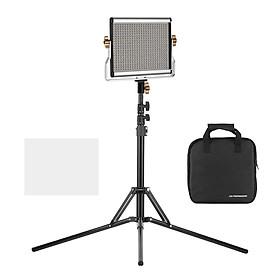 Bộ Đèn Led Chụp Ảnh Studio Điều Chỉnh Ánh Sáng Màu Tự Động Andoer CRI95