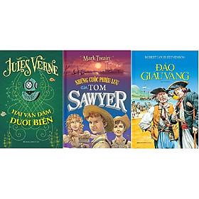 Combo Những Cuộc Phiêu Lưu Của Tom Sawyer + Hai Vạn Dặm Dưới Biển + Đảo Giấu Vàng