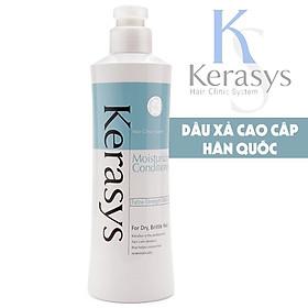 Bộ dầu gội/xả Kerasys Moisture cân bằng độ ẩm cho tóc xơ rồi Hàn Quốc (2x600ml) tặng kèm móc khoá-3
