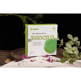 Viên đặt phụ khoa Egocilo se khít chống nấm ngứa và săn chắc an toàn cho phụ nữ hộp 3 viên (60g) làm sạch vùng kín, bệnh khí hư, viêm ngứa, đào thải các chất bẩn, tăng đàn hồi cho các hoạt động co dãn - Hàng chính hãng