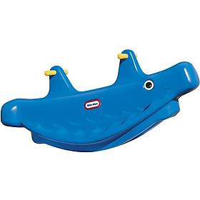 Bập bênh 3 chỗ ngồi Whale Teeter Totter Little Tikes