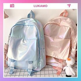 Balo nữ dễ thương đẹp đi học giá rẻ thời trang cá tính cute LUKAMO BL129