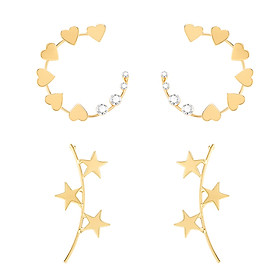 Fashionable Female Earring Gift for Girls Simple Decoration