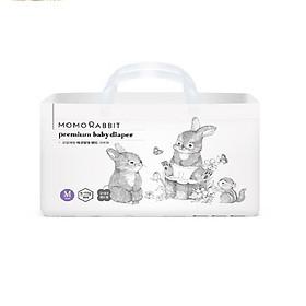 Bỉm/Tã Dán Momo Rabbit size M 44 miếng (Bé từ 6 - 11kg)-0