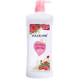 Sữa Tắm Dưỡng Sáng Da Hazeline Yến Mạch & Dâu Tằm (900g)