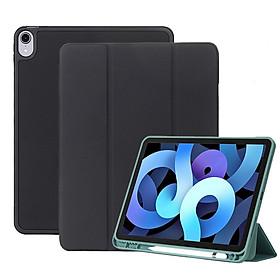 Bao Da Cover Dành Cho Apple Ipad Air 4 10.9 Inch 2020 Có Khe Cho Apple Pencil Hỗ Trợ Smart Cover