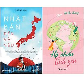 Combo Sách Tư Duy - Kỹ Năng Sống :  Nhật Bản Đến Và Yêu + Hộ Chiếu Tình Yêu