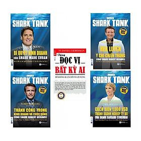 Combo 4 Cuốn America Shark Tank Tặng Kèm Cuốn Đọc Vị Bất Kỳ Ai (Tái Bản)