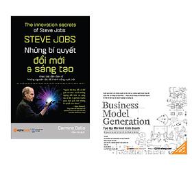 Combo Sáng Tạo Kinh Doanh: Steve Jobs - Những Bí Quyết Đổi Mới Và Sáng Tạo + Tạo Lập Mô Hình Kinh Doanh
