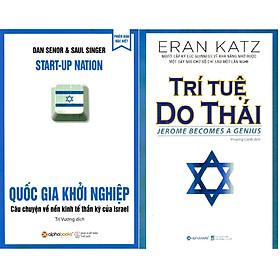 Combo Giải Mã Bí Mật Thông Minh Của Dân Tộc Do Thái ( Quốc Gia Khởi Nghiệp + Trí Tuệ Do Thái ) (Tặng Notebook tự thiết kế)
