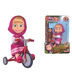 Đồ Chơi Búp Bê MASHA AND THE BEAR Masha Original Tricycle Fun 109302059 - Đồ Chơi Chính Hãng