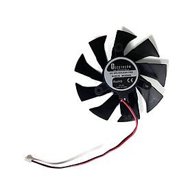 Quạt tản nhiệt 85MM 2PIN GA91B2U GTX 1050 PA Thay thế Quạt tản nhiệt cho Quạt card đồ họa ZOTAC GeForce GTX 1050Ti 4GB PB Thunder