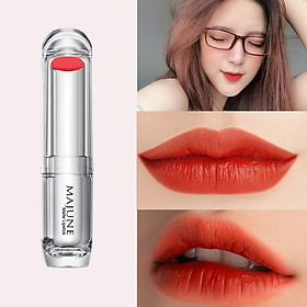 Son môi màu đỏ cam lên màu tươi tắn, dễ dùng Majune Việt Nam 3.5g/cây