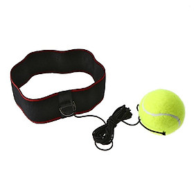 Boxing Reflex Ball Adjustable Headband for Reflex Speed Training Boxing Exercise Training Improve Reactions and Speed Boxing Gym E