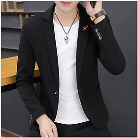 Áo khoác nam nhẹ kiểu Vest chất cotton dáng slim trẻ trung