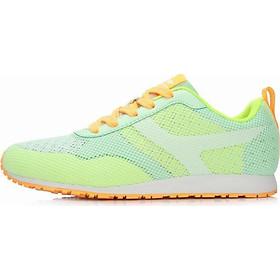 Giày thể thao nữ thoáng khí đế bằng - GN003 Xanh