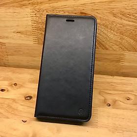 Bao da iPhone Xs Max hiệu ROAR Leather tpu- Hàng nhập khẩu