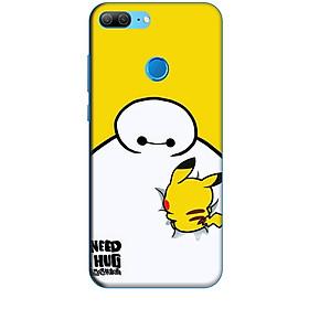 Ốp lưng dành cho điện thoại HUAWEI HONOR 9 LITE hinh Big Hero Pikachu