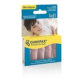 Hộp 10 nút bịt tai OHROPAX SOFT (Siêu mềm mại, êm ái)