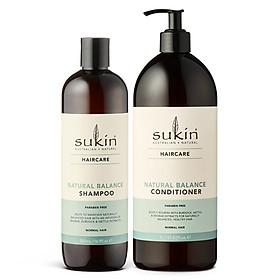 Combo Chăm Sóc Tóc Từ Thiên Nhiên Natural Balance Shampoo 500ml + Conditioner 1000ml-0