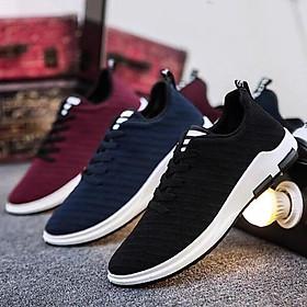 Giày Sneaker Nam Hàn Quốc Vải Xước V88