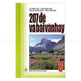 207 Đề Và Bài Văn Hay Lớp 8