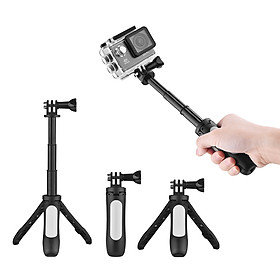 Mini Extension Selfie Stick Tripod Stand Hand Grip for GoPro Hero 3/5/4/3+3 for Yi Lite/4k/4k+ for SJCAM/Andoer/AKASO