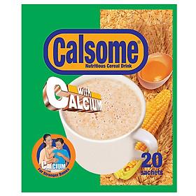 Bột ngũ cốc Calsome hương Vani