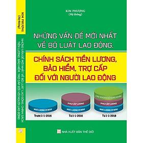 Sách Những Vấn Đề Mới Nhất Về Bộ Luật Lao Động, Chính Sách Tiền Lương, Bảo Hiểm, Trợ Cấp Đối Với Người Lao Động