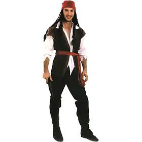 (CÓ SẴN) Trang Phục Cướp Biển Nam Nữ, Quần Áo Cướp Biển Nam Nữ, Trang Phục Hóa Trang Halloween, Đồ Cosplay Halloween