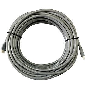 Dây cáp HDMI Romywell Thái Lan chuẩn 4K 2.0 dài 20m màu xám