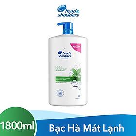 Dầu Gội Head & Shoulder Bạc Hà Mát Lạnh Chai 1800ML