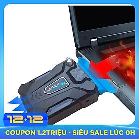 Quạt hút gió tản nhiệt laptop máy tính đế tản nhiệt tương thích với mọi loại laptop
