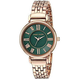 Đồng hồ nữ Anne Klein Women's Bracelet Watch - Rose Gold/Green