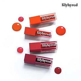 Son tint bóng lâu trôi Lilybyred Juicy Liar Water Tint-6