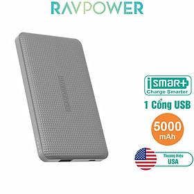 Pin Sạc Dự Phòng RAVPower 5000mAh RP-PB093 - Hàng Chính Hãng
