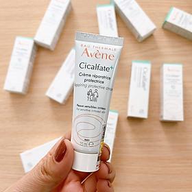 Avène Kem Phục Hồi Da, Lành Sẹo, Chống Nhiễm Khuẩn Cicalfate Cream 15ml