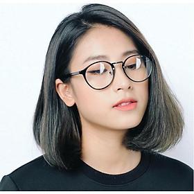 Kính Giả Cận Không Độ Nam Nữ KOREA N109 - Gọng Kính Tròn Siêu Nhẹ Với Đệm Mũi Chắc Chắn